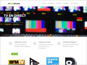 TV en direct sur internet
